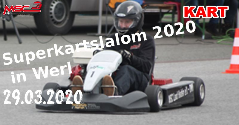 Superkartslalom 2020 in Werl